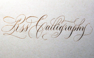 RSS Calligraphy
