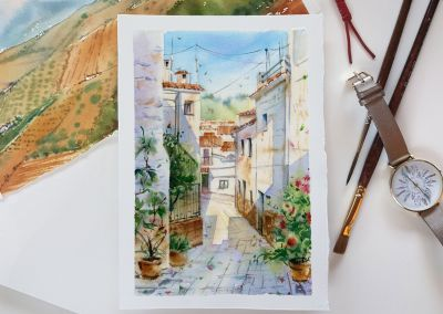 Watercolour Masterclass – Urban Sketching with Kateryna Savchenko