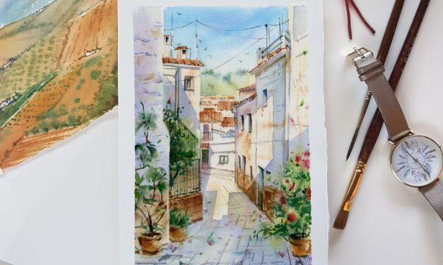 Watercolour Masterclass – Urban Sketching with Kateryna Savchenko