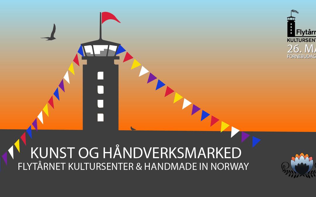 Kunst -og håndverksmarked – Flytårnet Kultursenter