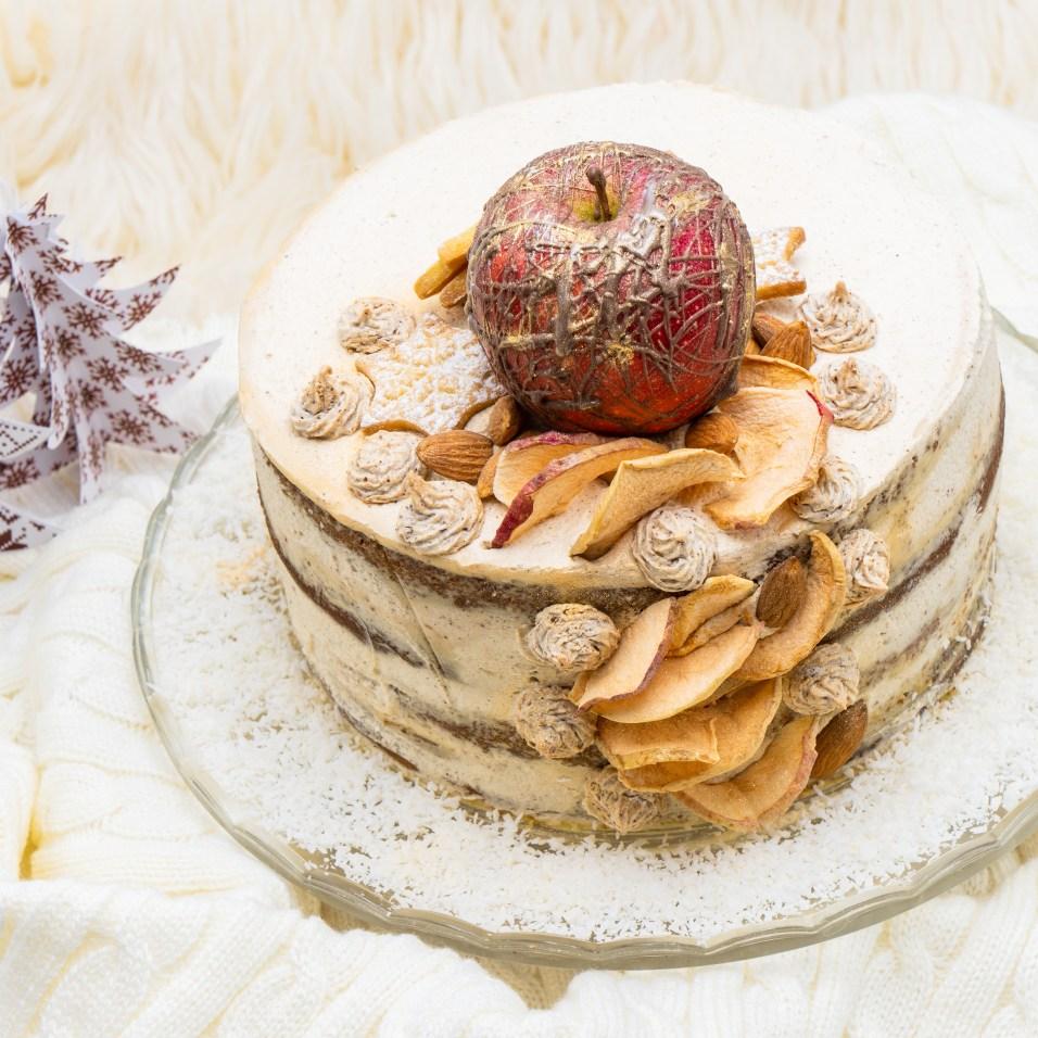 Spekulatius Bratapfel Naked Cake