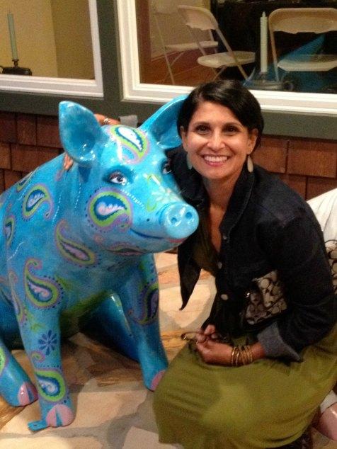 Ilina on the North Carolina #farmtopork tour