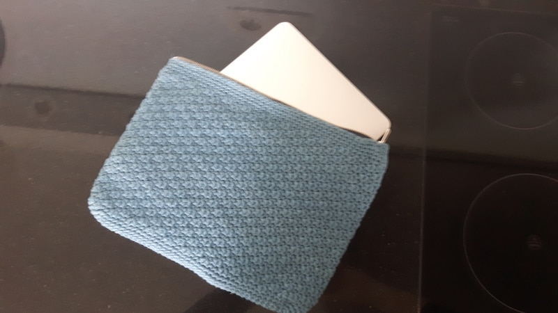 laptop sleeve with laptop