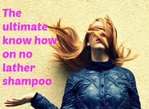 no lather shampoo