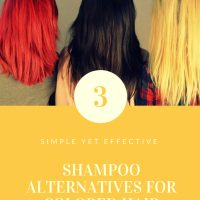 How to Make a Shampoo Replacement for Colored Hair