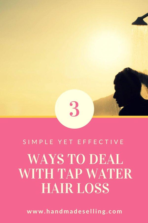 tap water hair loss