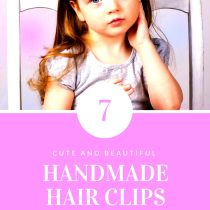 handmade hair clips for babies