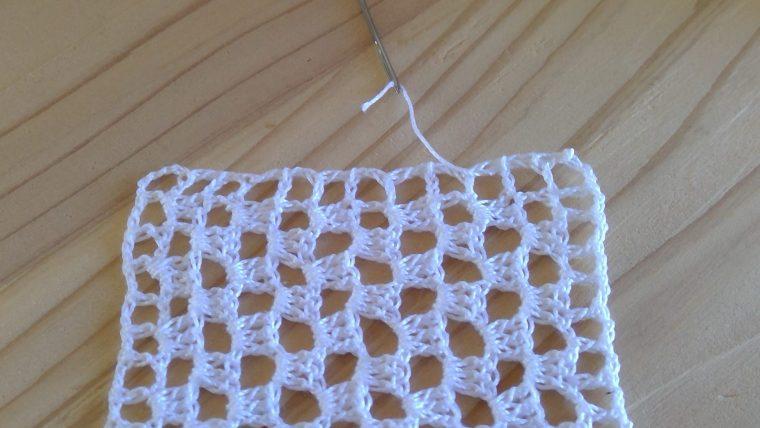 レース編みで糸始末の方法は?