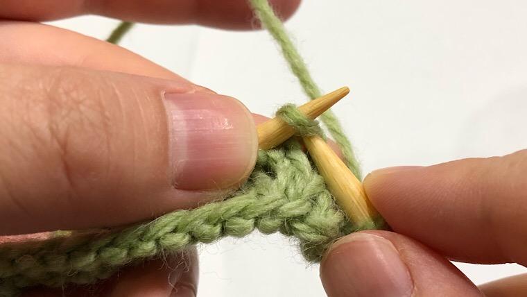 表目 編み方