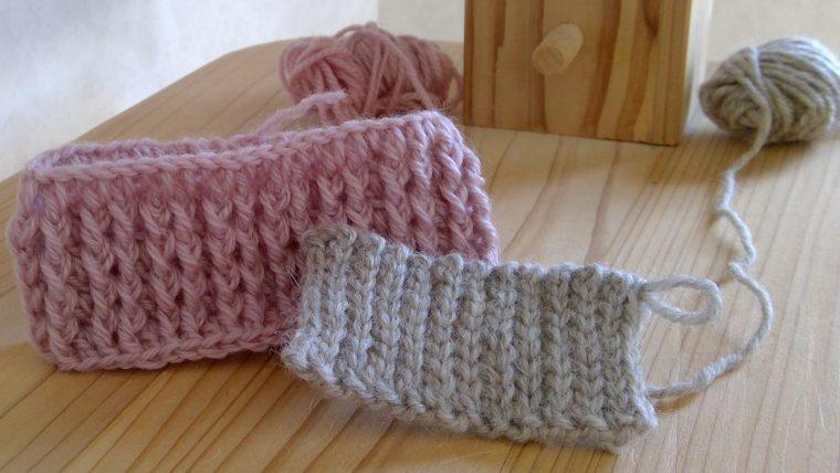 かぎ針編み ゴム編みの編み図は?