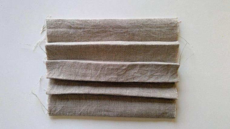 マスクを手作りする時は型紙準備!簡単ダウンロードですぐに作成☆