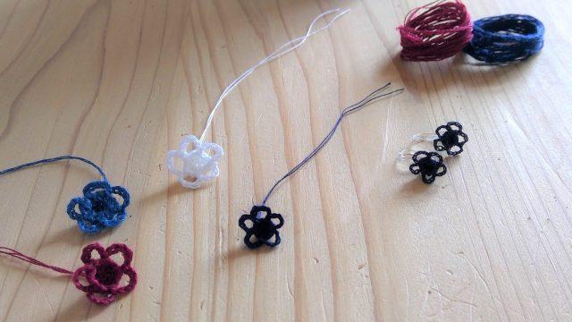 レース編みで花のアクセサリー!気軽に作れる簡単可愛いレシピ3選☆