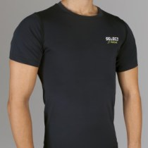 6900 Compression T-shirt with short sleeves_black
