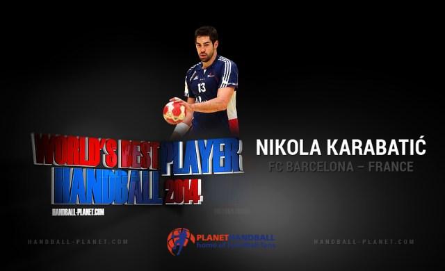 24d86fa0eae24 Election   Nikola Karabatic élu meilleur joueur du Monde 2014   HandNews