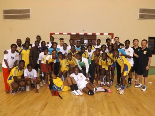 avec les juniors maliennes