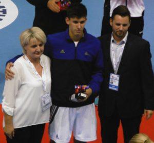 Benjamin Richert MVP jeune France