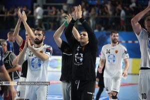 Le triple arrêt du gardien du Vardar face à Montpellier