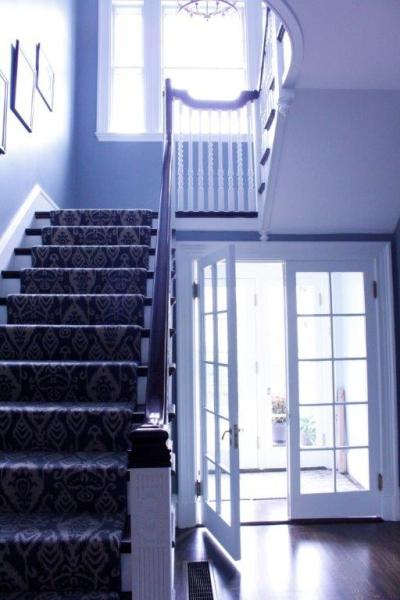 Remodeled entryway and stairway