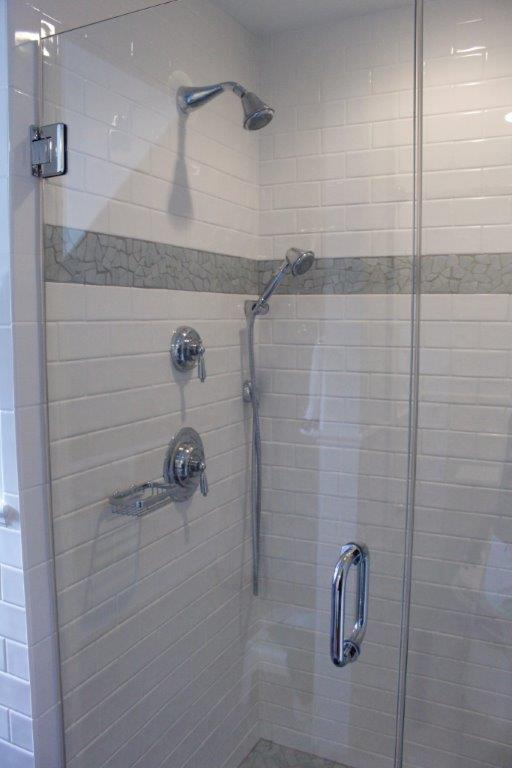 Handrahan Remodeling bathroom walk-in shower remodel
