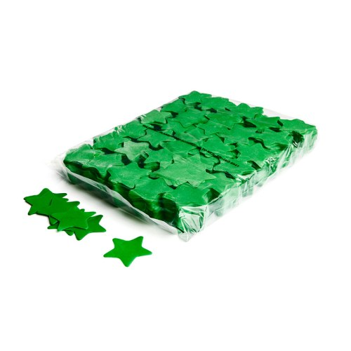 Schritt 2: GIGANT - Slowfall FX Konfetti Stern dunkelgrün