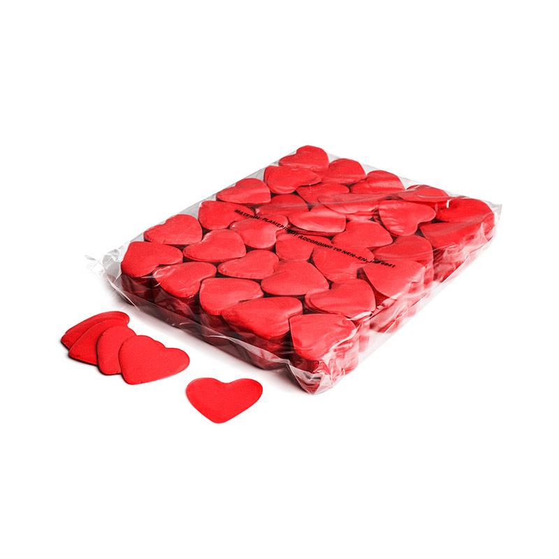 Schritt 2: GIGANT - Slowfall FX Konfetti Herz rot