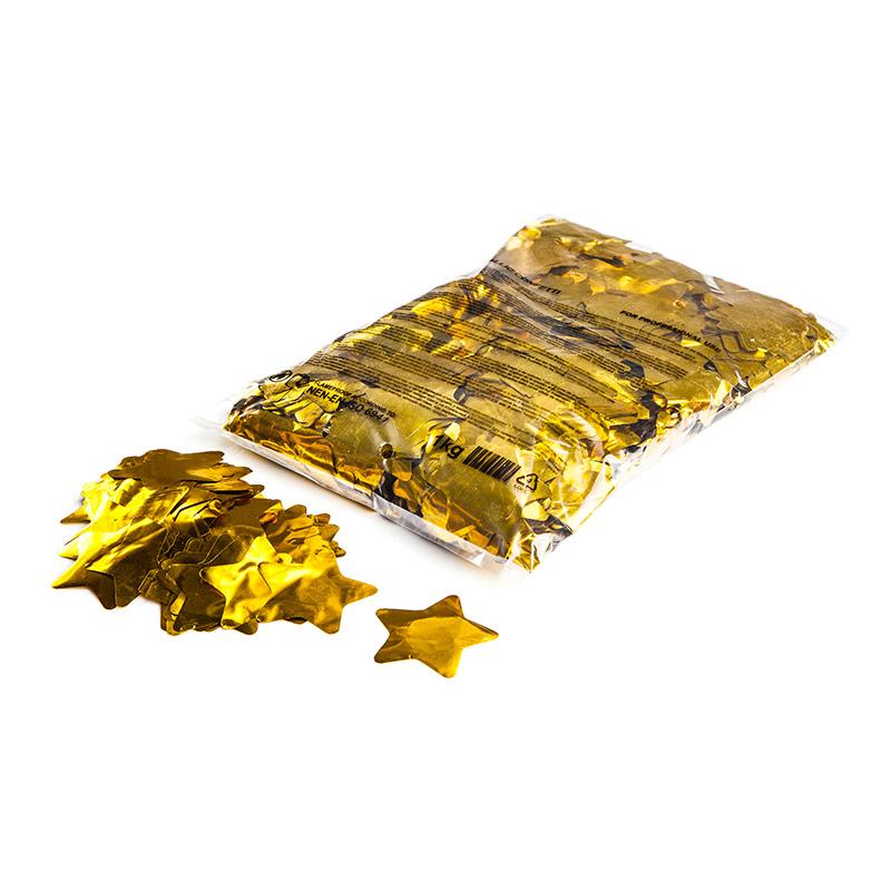 Schritt 2: GIGANT - Glitterdreams FX Konfetti Stern Metallic gold