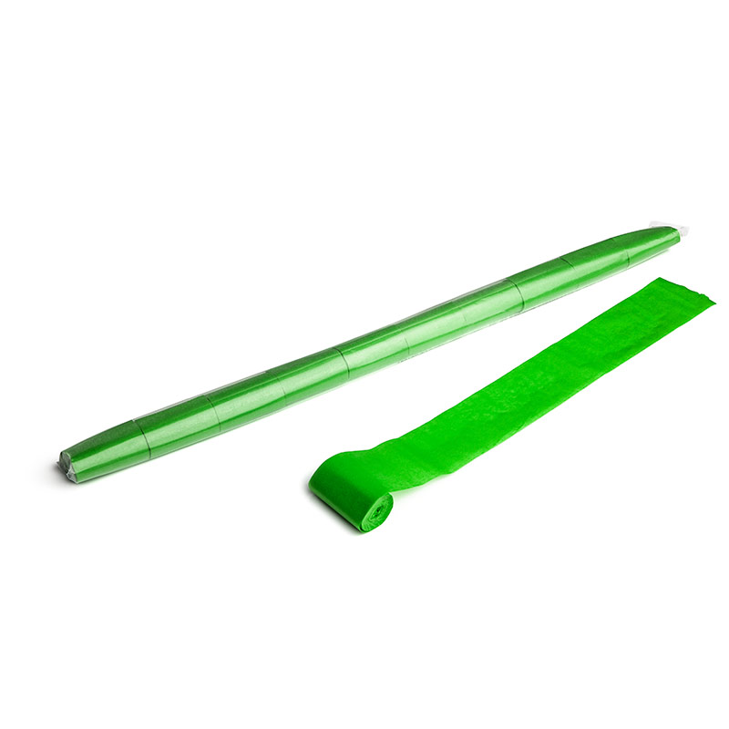 Schritt 2: GIGANT - Paper Streamer hellgrün - 10 m x  5 cm - 10 Rollen