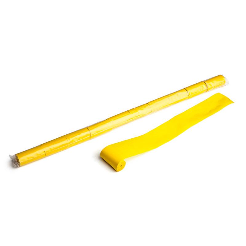 Schritt 2: GIGANT - Paper Streamer gelb - 10 m x  5 cm - 10 Rollen
