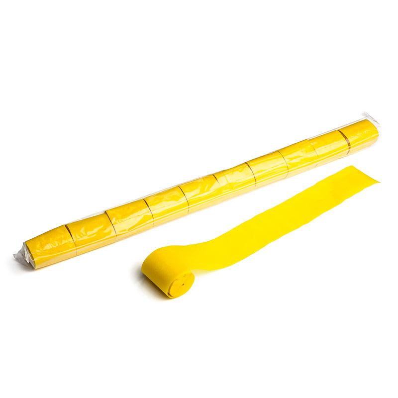Schritt 2: GIGANT - Paper Streamer gelb - 20 m x  5 cm - 10 Rollen