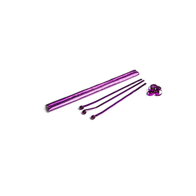 Schritt 2: GIGANT - Metallic Streamer pink - 5 m x  0,85 cm - 100 Rollen