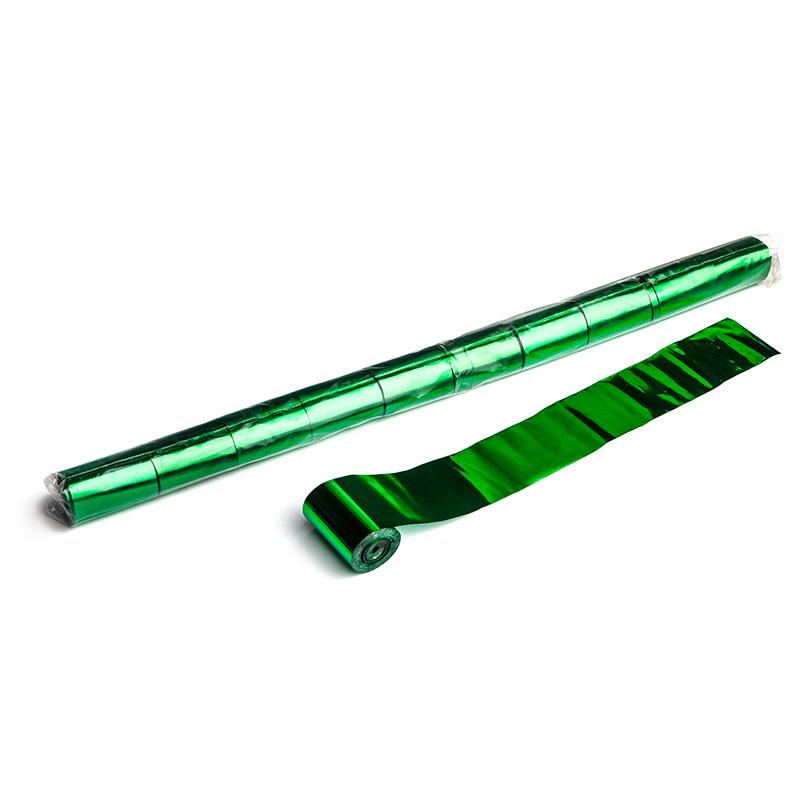 Schritt 2: GIGANT - Metallic Streamer dunkelgrün - 20 m x  5 cm - 10 Rollen