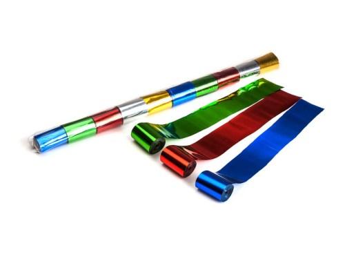 Schritt 2: GIGANT - Metallic Streamer bunt - 20 m x  5 cm - 10 Rollen