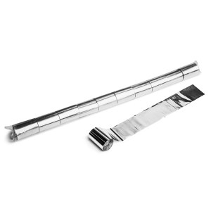 Schritt 2: GIGANT - Metallic Streamer silber - 20 m x  5 cm - 10 Rollen