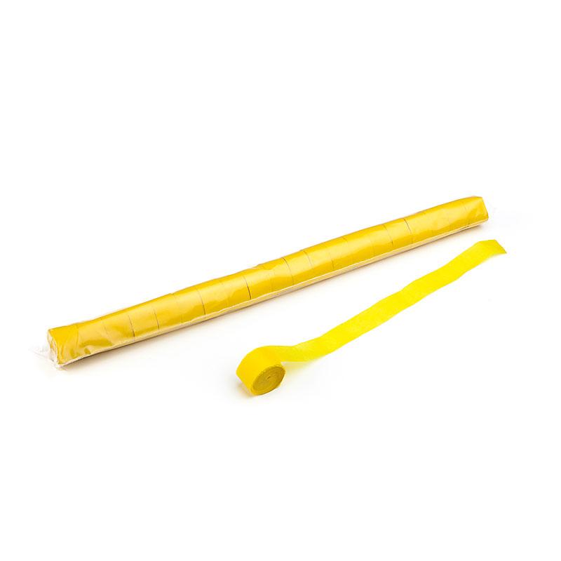 Schritt 2: GIGANT - Metallic Streamer gelb - 20 m x  2,5 cm - 20 Rollen