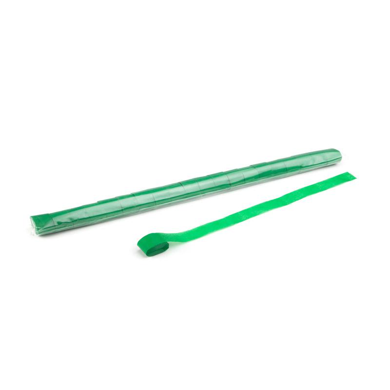 Schritt 2: GIGANT - Metallic Streamer dunkelgrün - 10 m x  2,5 cm - 20 Rollen