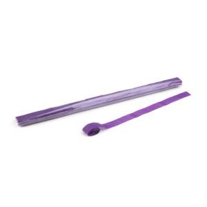Schritt 2: GIGANT - Metallic Streamer lila - 10 m x 2,5 cm - 20 Rollen