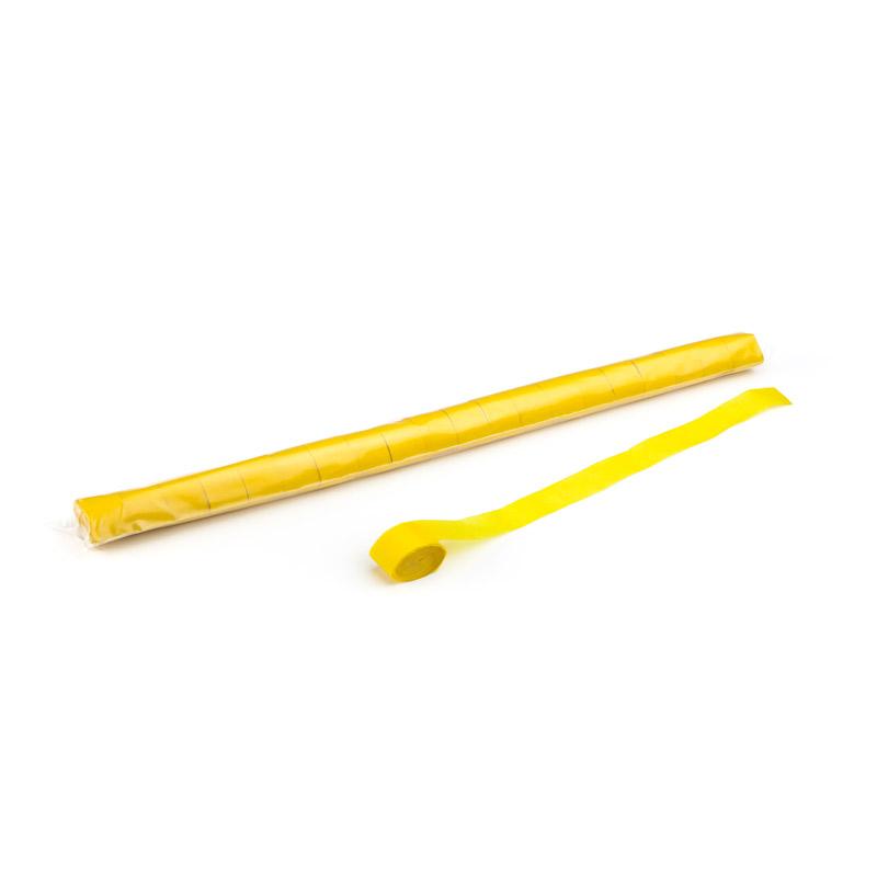 Schritt 2: GIGANT - Metallic Streamer gelb - 10 m x  2,5 cm - 20 Rollen
