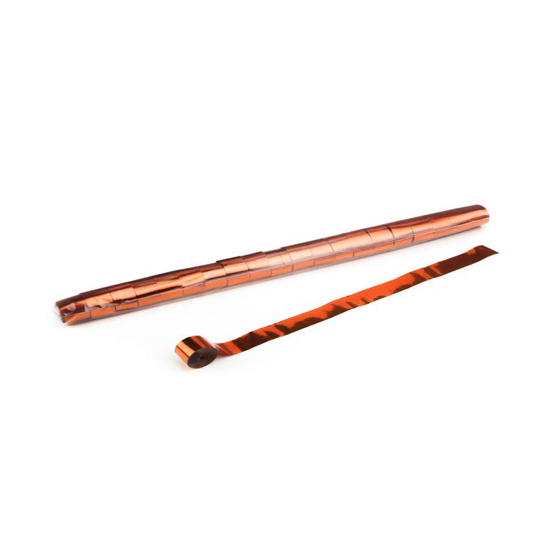 Schritt 2: GIGANT - Metallic Streamer orange - 10 m x 2,5 cm - 32 Rollen
