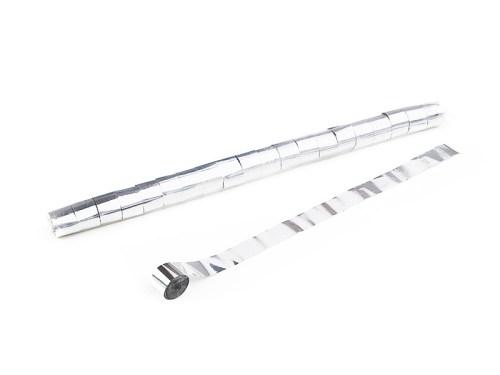 Schritt 2: GIGANT - Metallic Streamer weiß - 10 m x  2,5 cm - 32 Rollen