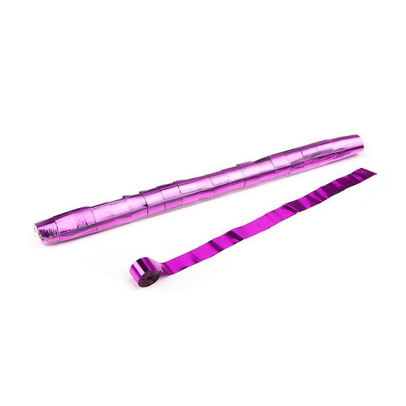 Schritt 2: GIGANT - Metallic Streamer pink - 10 m x  2,5 cm - 20 Rollen - 25/Karton