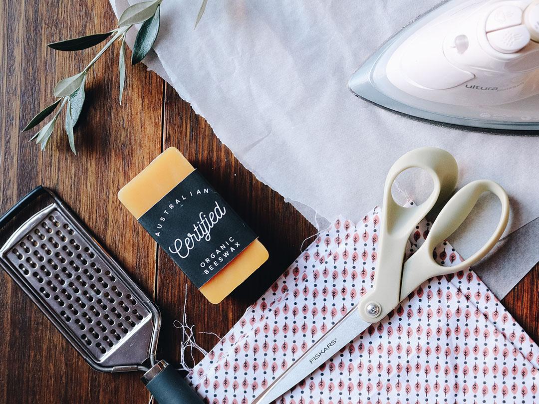 DIY Reusable Beeswax Wraps