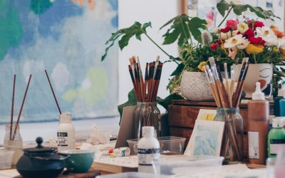 Workshop Review | Acrylic Painting with Belinda Marshall