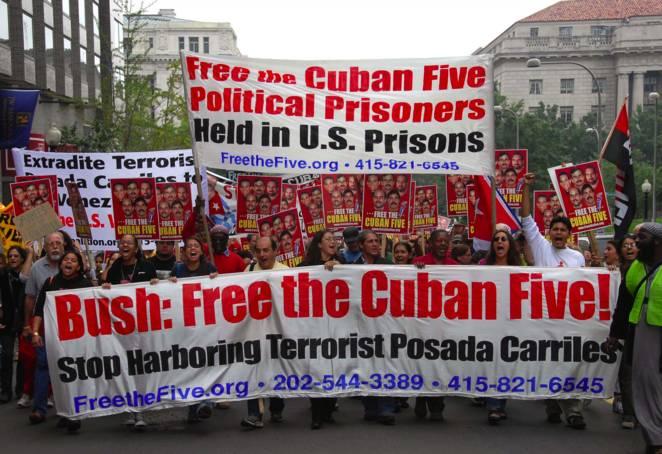 de fem kubanerna