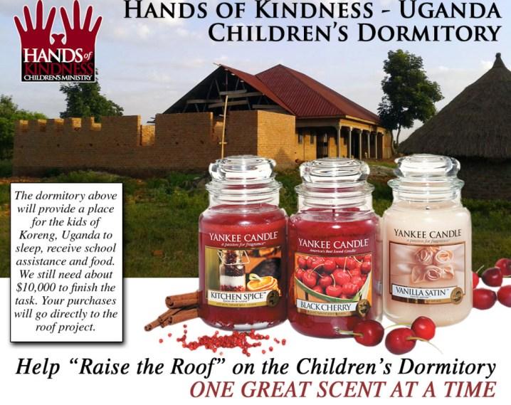 HOK Dormitory - Yankee Candle Fundraiser