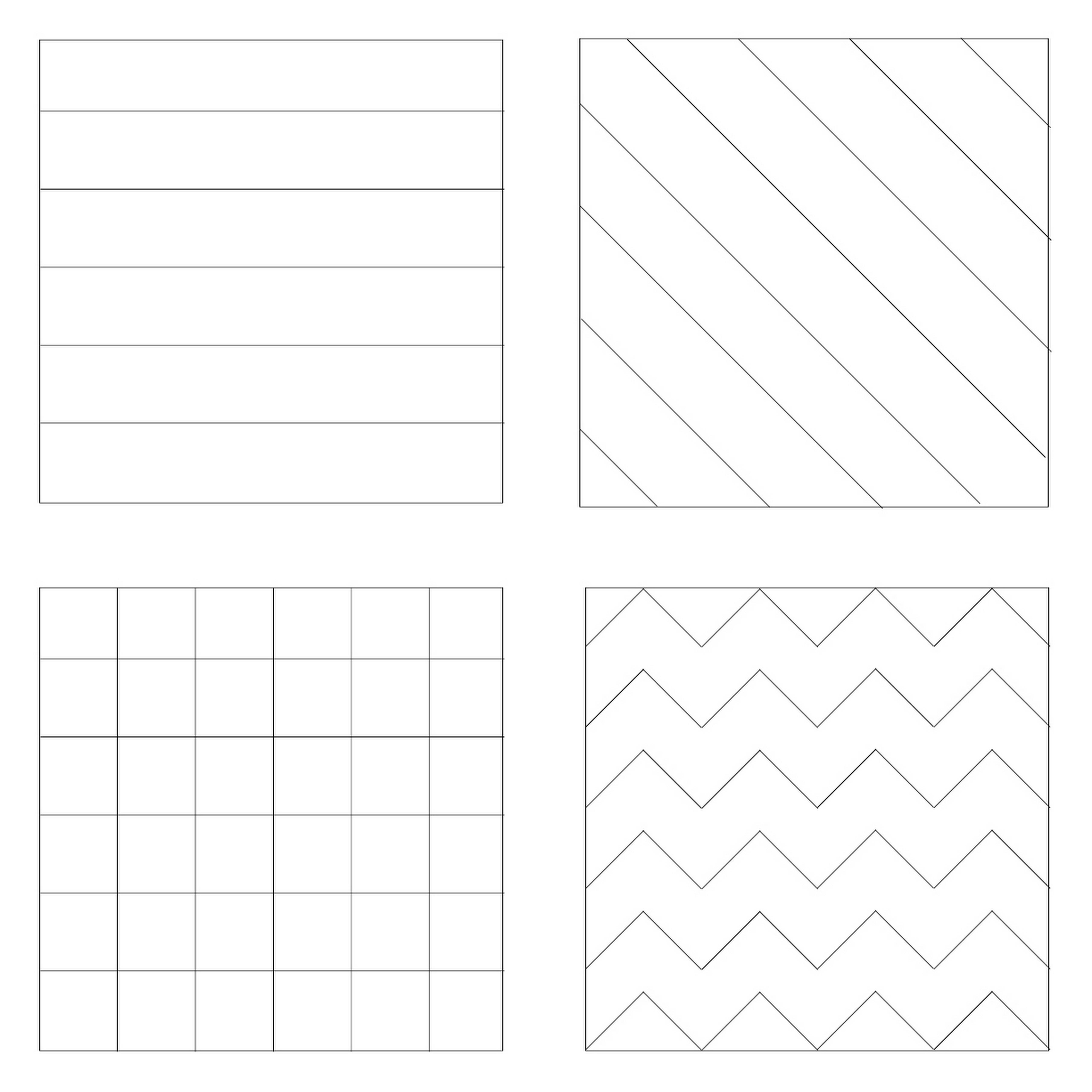 Block Patterning Worksheet