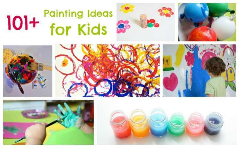Paint-A-Thon! 101 Painting Ideas for Kids