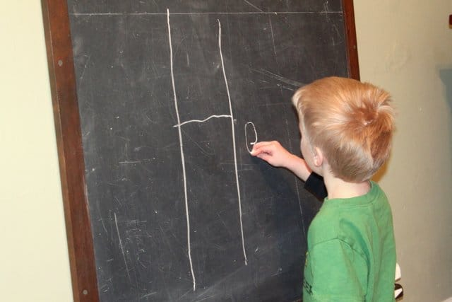 Fine motor skills helps kids learn to write