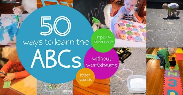 50 Incredible Alphabet Activities for Preschoolers 50 Alphabet activities for preschoolers