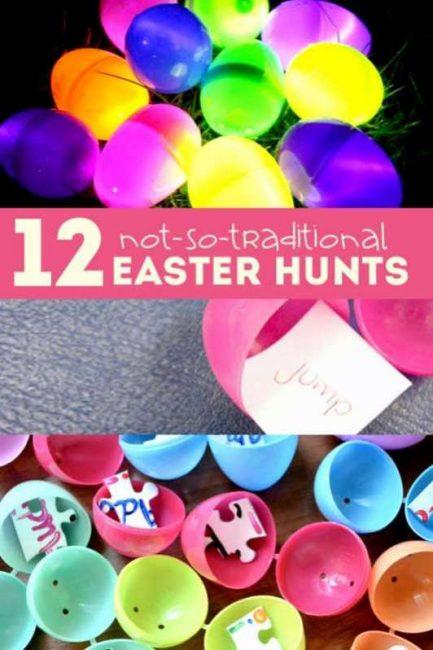 Easter Hunt Clues Riddles Egg