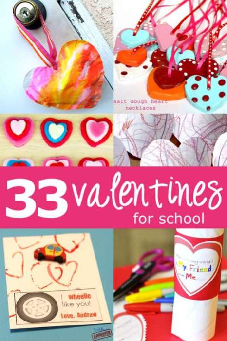 children's activities for valentine's day